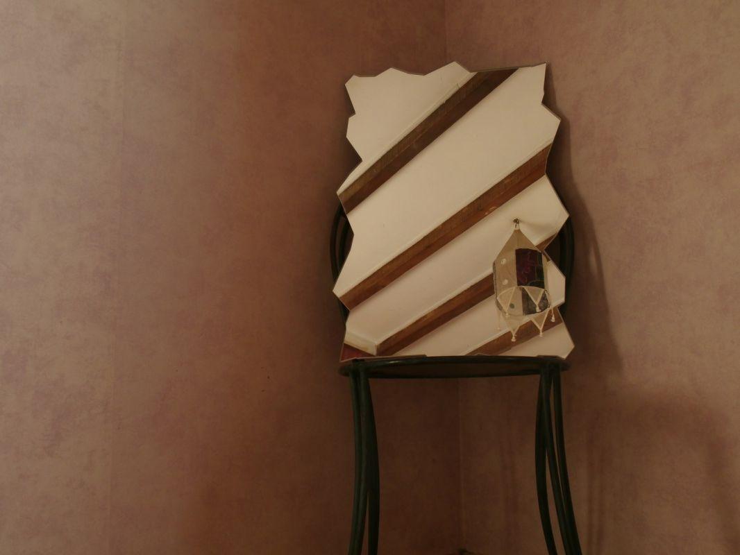 un miroir de forme complexe