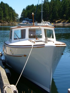One of the nicest boats on the coast - 'Rat'