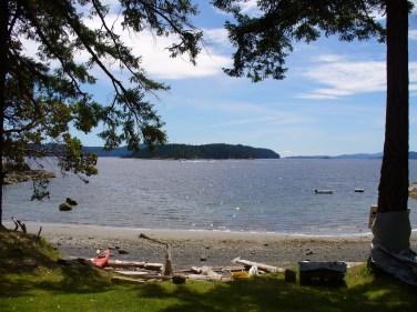 View of Ruxton Island