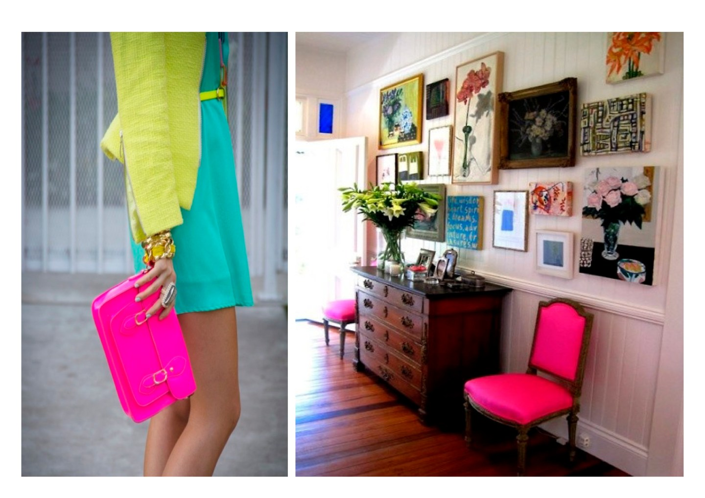 Neon: New fashion and home decor trend