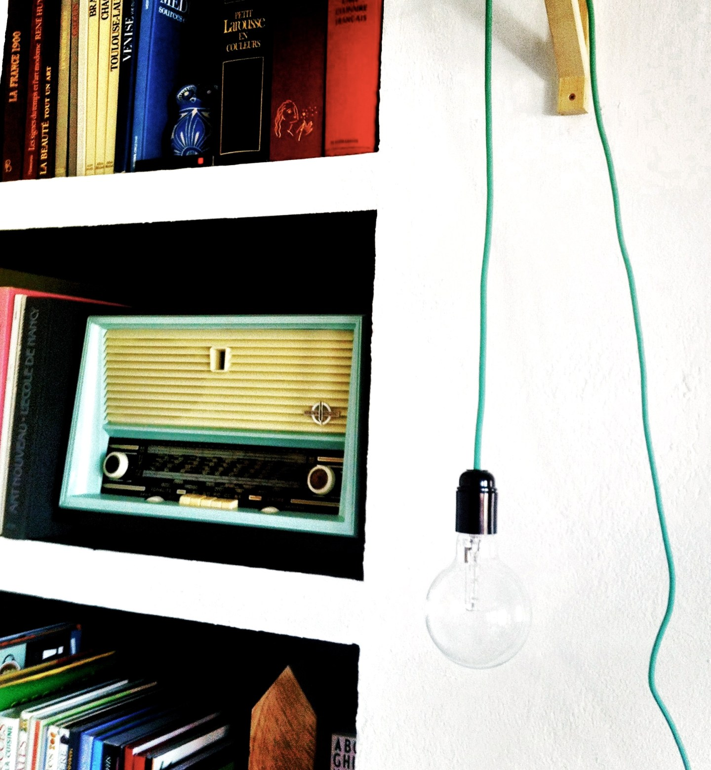 At home: Ma nouvelle lampe DIY !