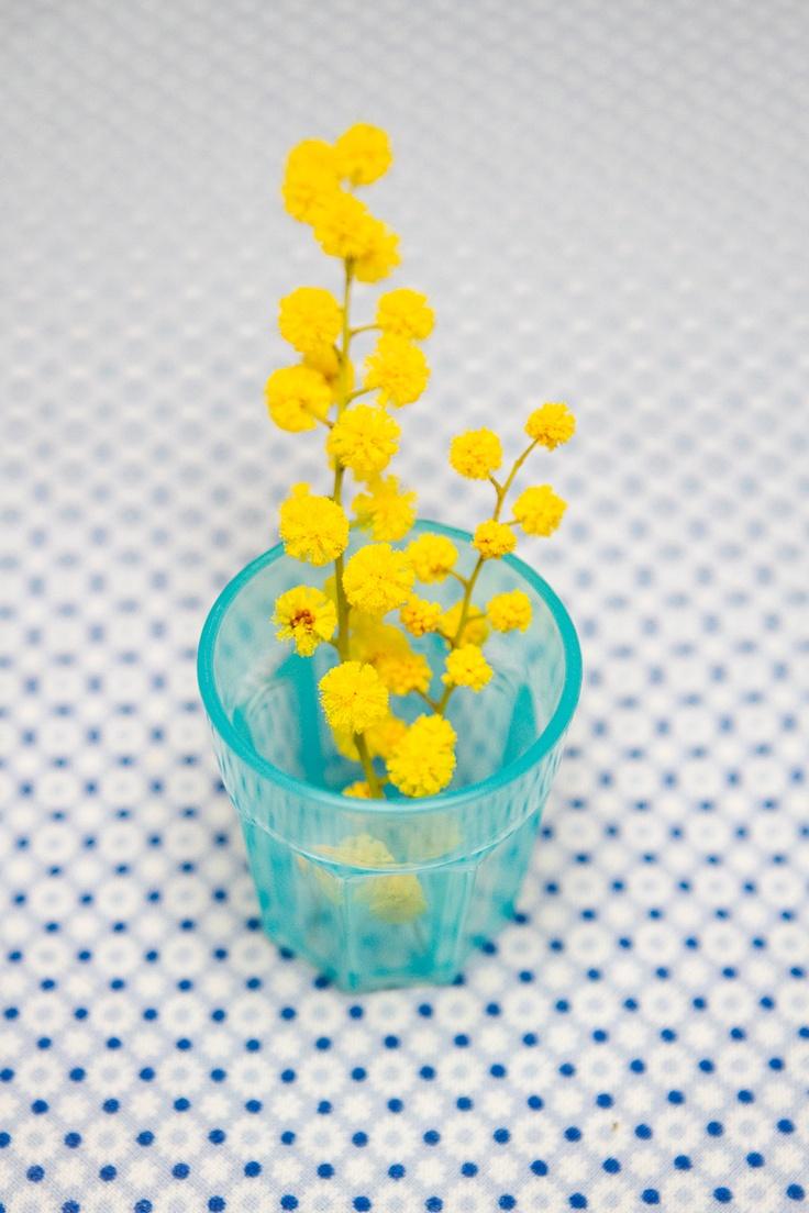 fleurs dans la déco