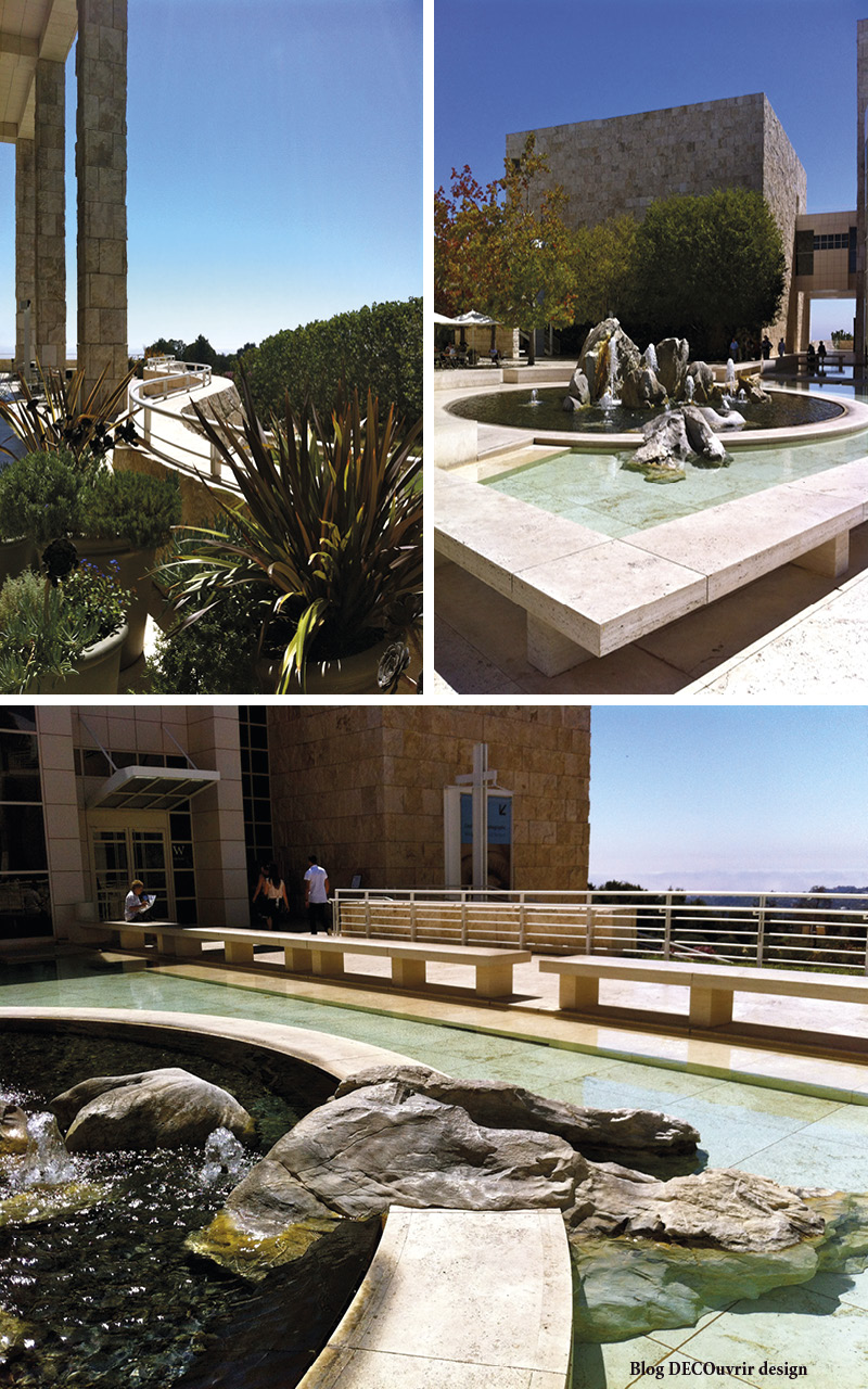Le Getty center 1 - Blog DECOuvrir design2