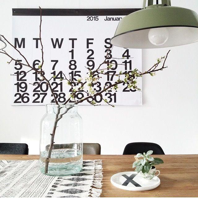 Un calendrier design pour 2016