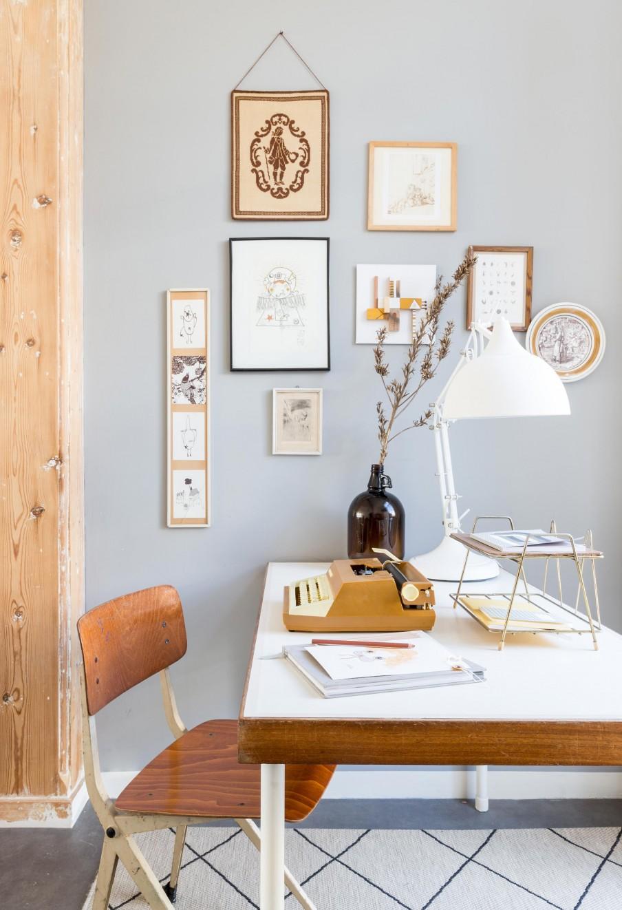 décor vintage, récup et naturel
