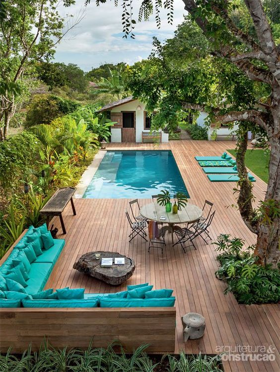 Idées pour aménager et décorer la terrasse pour l\'été | DecouvrirDesign