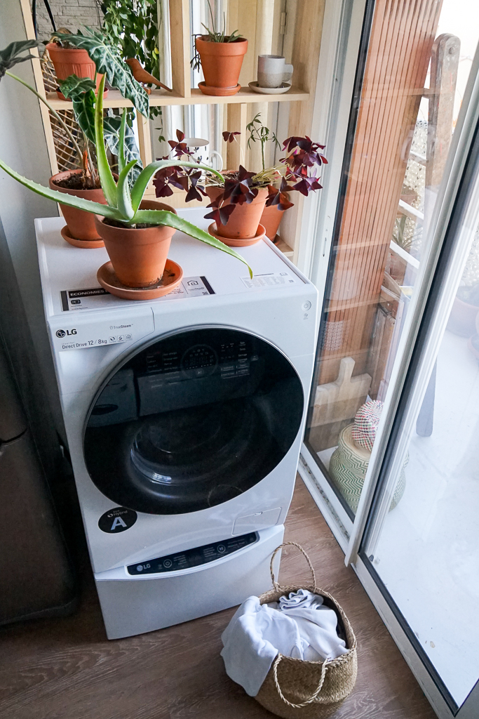 LG TWINWash™, le nouveau lave-linge séchant connecté !