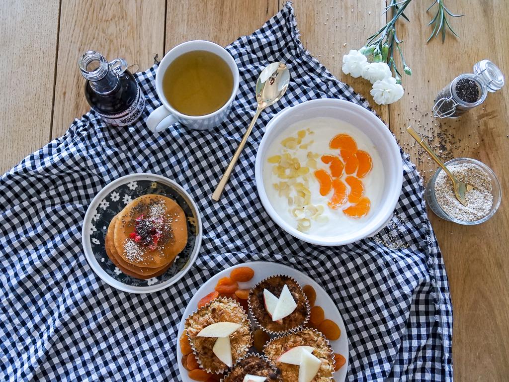 Recettes healthy pour un goûter ou brunch hivernal