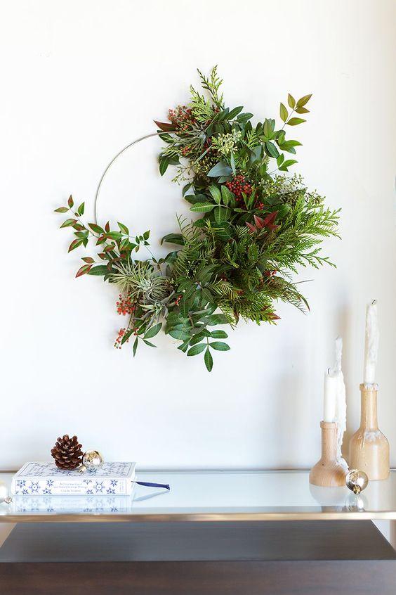 Idées simples pour un Noël végétal et chaleureux