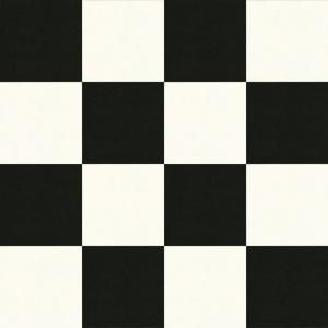 sol pvc best motif carrelage damier blanc noir