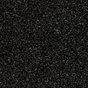 tapis paillettes star noir ganse coton