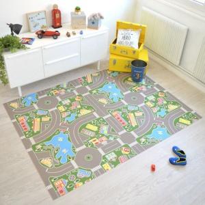 tapis sur mesure vinyle pour les enfants circuit grand prix f1