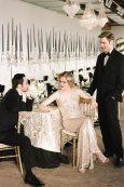 1920s Gold Art Deco Wedding
