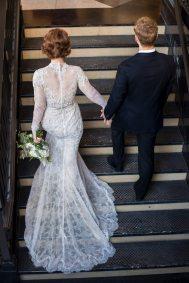 1920s Wedding Gown Train