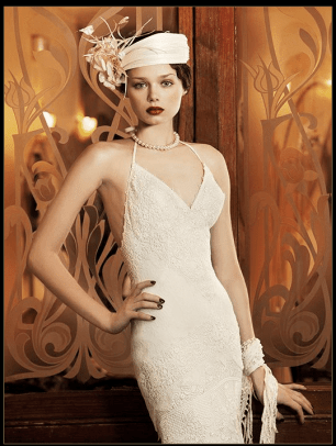 Art Deco Wedding Dress Yolan Cris Milán