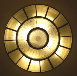 Art Deco Light Fixture || Queen Mary