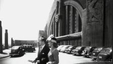 1940s Train Station