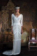 Saturn Art Deco Gown | Eliza Jane Howell
