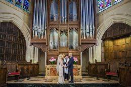 American Church in Paris Wedding