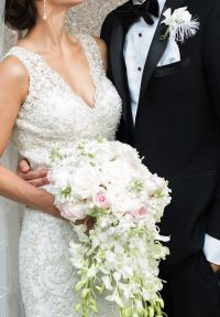 Art Deco Bridal Bouquet