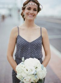 Art Deco Bridesmaid