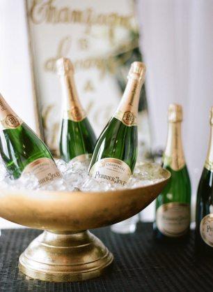 Art Deco Champagne Bar