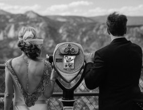 Art Deco Colorado Wedding