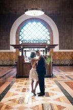Art Deco Wedding Union Station Los Angeles