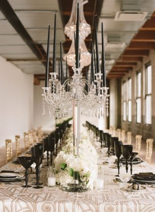 Black and Gold 1920s Theme WEdding
