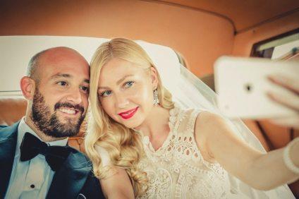 Bride + Groom Selfie