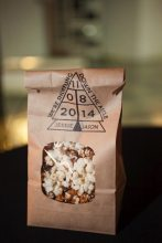 DIY Wedding Popcorn Bags