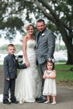 Family Portrait Vintage Florida Wedding