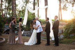 Gatsby Inspired Outdoor Wedding Arizona