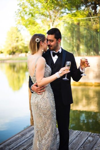 Gatsby Style Wedding | Arizona