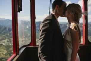Mountain Gondola Wedding