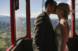 Mountain Gondola Wedding