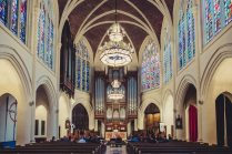 Parisian Church Wedding
