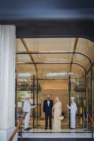 Parisian Wedding at the Penninsula Hotel