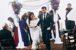 Romantic Rainy California Wedding