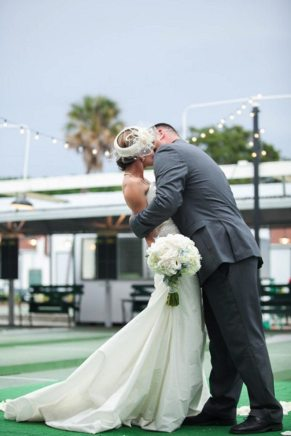 St Petes Shuffleboard Club Wedding