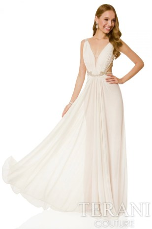 Terani Grecian Wedding Gown