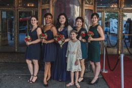 Vintage Styled Bridal Party