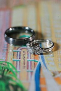 Wedding Rings Vintage Florida Wedding