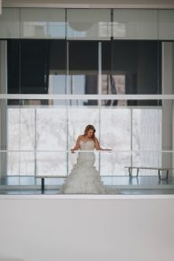 Winter Wedding Bridal Gown