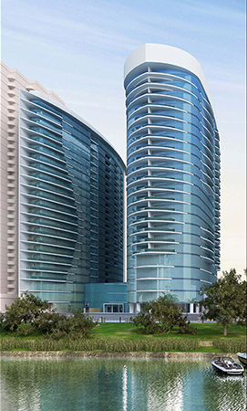 Hilton Maadi Nile Towers hotel project