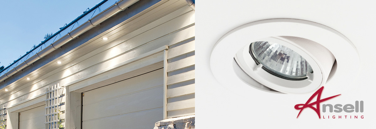 ansell outdoor adjustable soffit lights