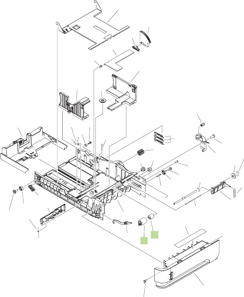 Figure 8 18 optional 500 sheet feeder cassette