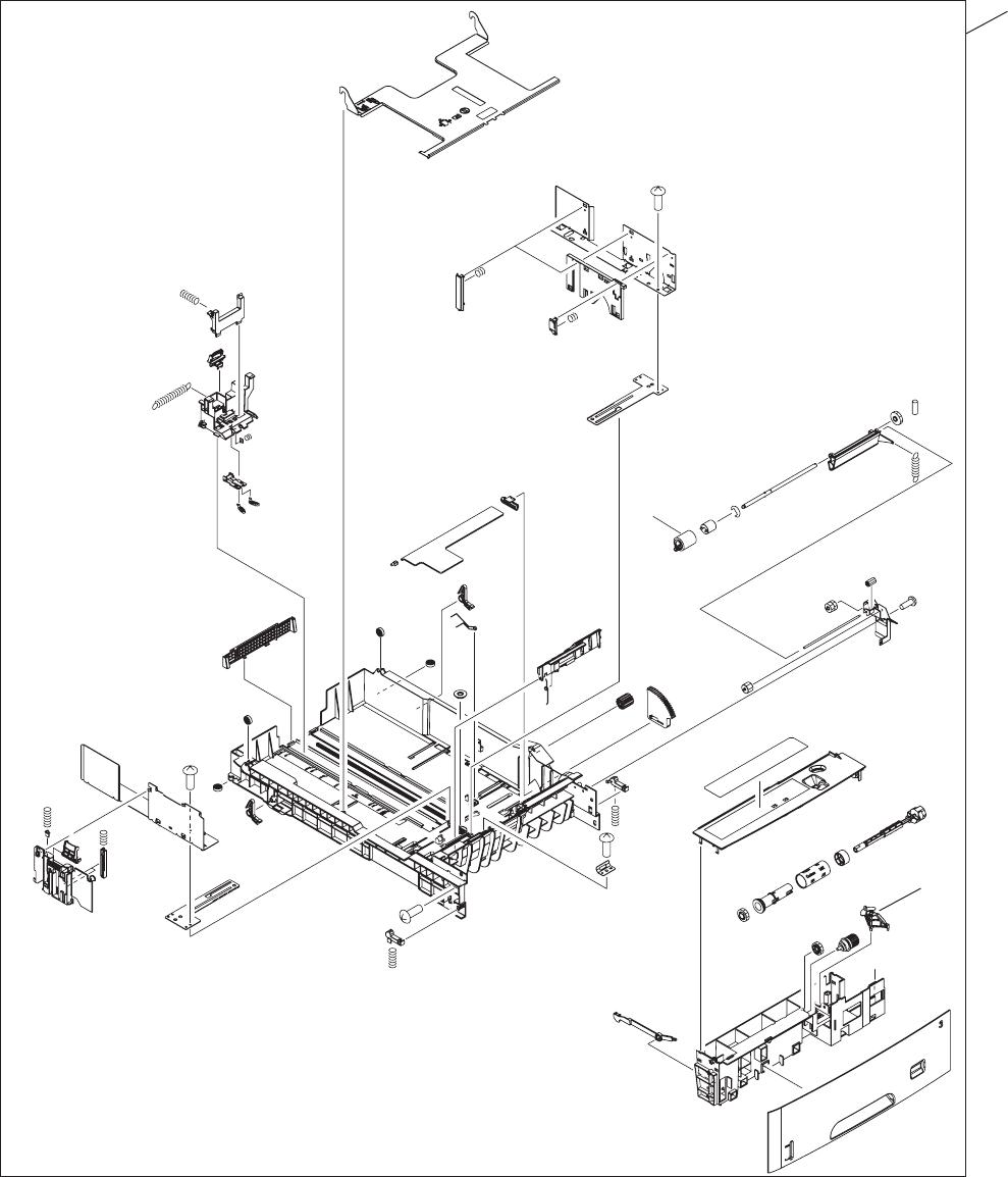 500 sheet feeder cassette tray 3