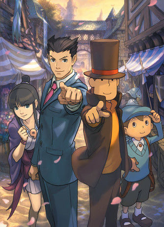 Layton VS Ace Attorney