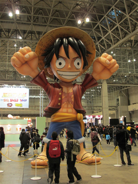 muñeco hinchable gigante luffy one piece